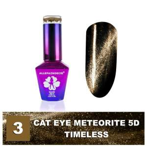 Lakier Hybrydowy - Colours by Molly - Cat Eye Meteorite 5D - 3 Timeless - 10ml