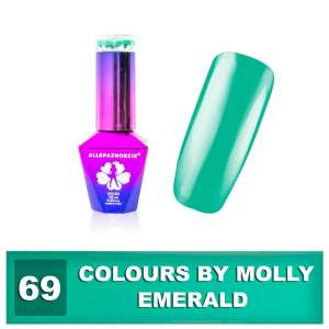 Lakier Hybrydowy - Colours by Molly - Emerald 69 - 10ml