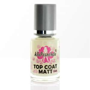 Lakier Top Coat Matt - 15 ml