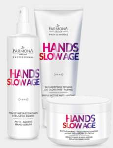 ZESTAW do Dłoni - Hands Slow Age - Farmona Professional - 300 ml