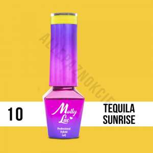 Lakier Hybrydowy - Tequila Sunrise 10 - Coctails & Drinks - Molly Lac - 5 ml