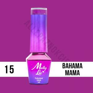 Lakier Hybrydowy - Bahama Mama 15 - Coctails & Drinks - Molly Lac - 5 ml