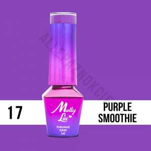 Lakier Hybrydowy - Purple Smoothie 17 - Coctails & Drinks - Molly Lac - 5 ml