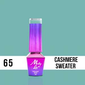 Lakier Hybrydowy - Cashmere Sweater 65 - Delicate Woman - Molly Lac - 5 ml