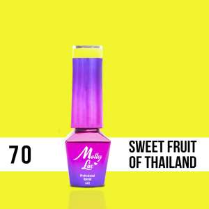 Lakier Hybrydowy - Sweet Fruit of Thailand 70 - Women in Paradise  - Molly Lac - 5 ml