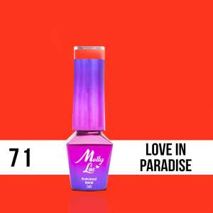 Lakier Hybrydowy - Love in Paradise 71 - Women in Paradise - Molly Lac - 5 ml