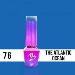 Lakier Hybrydowy - The Atlantic Ocean 76 - Women in Paradise - Molly Lac - 5 ml