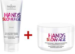 DUET Hands Slow Age - Peeling i Maska do Dłoni - Farmona Professional