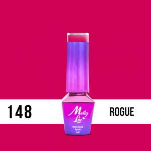 Lakier Hybrydowy - Rogue 148 - Flamingo - Molly Lac - 5 ml