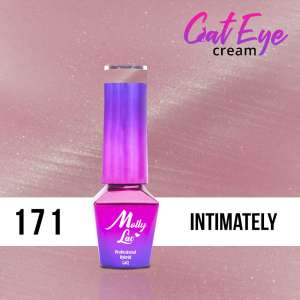 Lakier Hybrydowy - Intimately 171 - Cat Eye Cream - Molly Lac - 5 ml