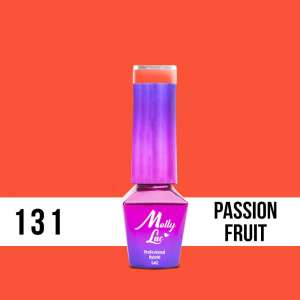 Lakier Hybrydowy - Passion Fruit 131 - Bubble Tea - Molly Lac - 5 ml