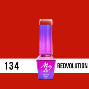 Lakier Hybrydowy - Redvolution 134 - Bubble Tea - Molly Lac - 5 ml