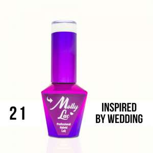 Lakier Hybrydowy - Inspired by Wedding 21 - Yes I Do - Molly Lac - 5 ml