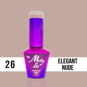 Lakier Hybrydowy - Elegant Nude 26 - Yes I Do - Molly Lac - 5 ml