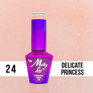 Lakier Hybrydowy - Delicate Princess 24 - Yes I Do - Molly Lac - 5 ml
