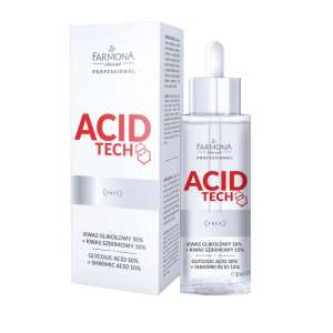 Kwas Glikolowy 50% + Kwas Szikimowy 10% - Acid Tech - Farmona Professional - 30 ml