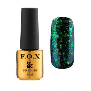 Lakier Hybrydowy - Yuki Flakes 002 - F.O.X Nails Professional - 6 ml
