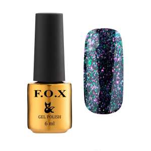 Lakier Hybrydowy - Yuki Flakes 003 - F.O.X Nails Professional - 6 ml