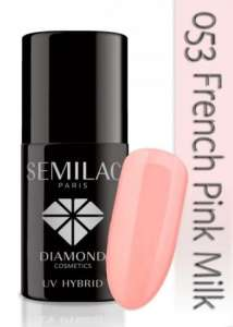 Semilac French Pink Milk 053