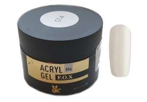 Akrylożel - Acryl Gel 014 - F.O.X Nails Professional - Słoiczek 30 ml