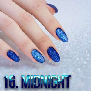 Sequin Quartz Effect - Midnight - 16