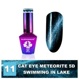 Lakier Hybrydowy - Colours by Molly - Cat Eye Meteorite 5D - 11 Swimming in Lake - 10ml