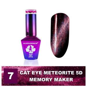Lakier Hybrydowy - Colours by Molly - Cat Eye Meteorite 5D - 7 Memory Maker - 10ml