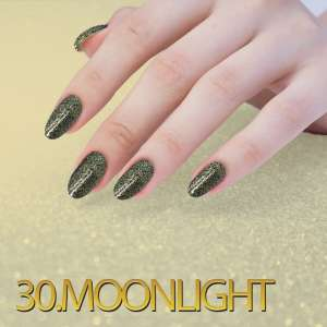 Sequin Quartz Effect - Moonlight - 30