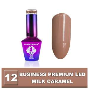 Lakier Hybrydowy - Milk Caramel 12 - BUSINESS PREMIUM LED - Colours by Molly - 10 ml