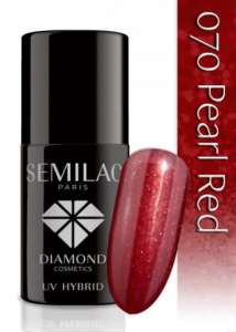 Semilac Pearl Red 070