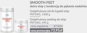 DUET - Grejpfrutowa Sól do Kąpieli i Peeling do Stóp - Smooth Feet - Farmona Professional
