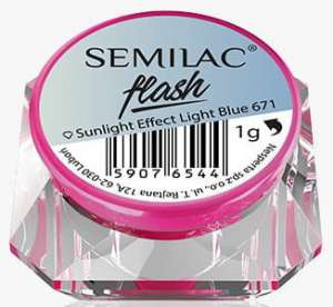 Semilac - Flash Sunlight - Light Blue 671