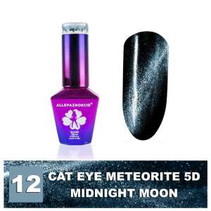 Lakier Hybrydowy - Colours by Molly - Cat Eye Meteorite 5D - 12 Midnight Moon - 10ml