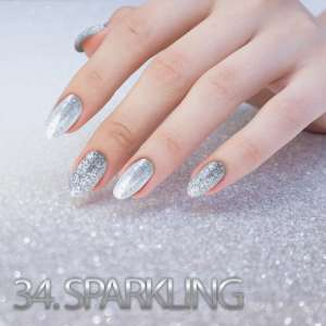 Sequin Quartz Effect - Sparkling - 34