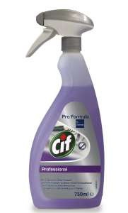 Cif Professional - 2 in 1 Cleaner Disinfectant - Dezynfekcja - 750 ml