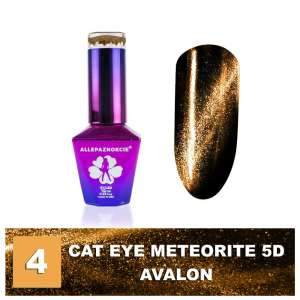 Lakier Hybrydowy - Colours by Molly - Cat Eye Meteorite 5D - 4 Avalon - 10ml