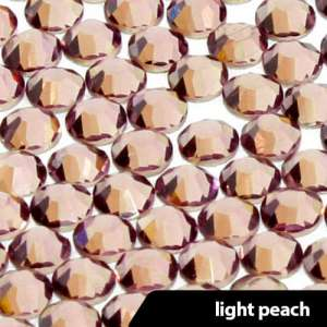 Cyrkonie a'la Swarovski  3 mm - 100 szt. - Light Peach
