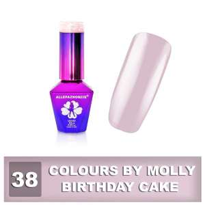 Lakier Hybrydowy - Birthday Cake 38 - Colours by Molly - 10 ml