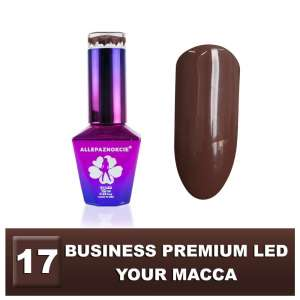 Lakier Hybrydowy - Your Macca 17 - BUSINESS PREMIUM LED - Colours by Molly - 10 ml
