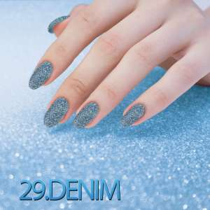 Sequin Quartz Effect - Denim - 29