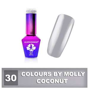 Lakier Hybrydowy - Coconut 30 - Colours by Molly - 10 ml