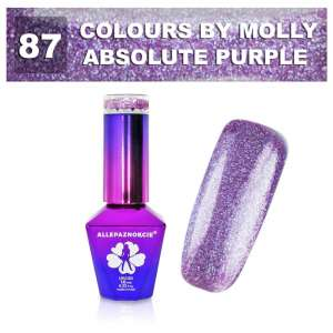 Lakier Hybrydowy CARNIVAL COLLECTION - Colours by Molly - Absolute Purple 87 - 10ml