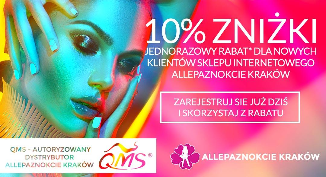 1f6dd97325bef2 Zapraszamy Państwa do skorzystania z 10% rabatu* na pierwsze zakupy dla  nowych klientów sklepu internetowego AllePaznokcie Kraków. Rabat na pierwsze  zakupy ...